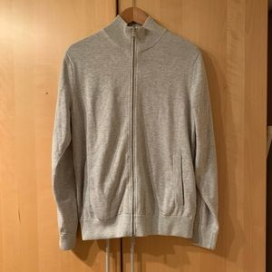 Men's Banana Republic zip up sweater